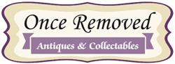 Once Removed Antiques Logo